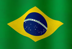 Brazilian Flag Stock Photography