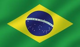 Brazilian Flag Royalty Free Stock Images