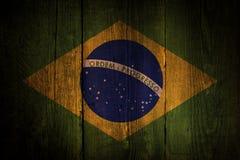 Brazilian flag. Stock Images