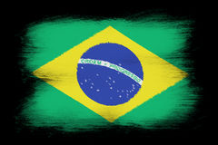 The Brazilian flag Royalty Free Stock Images