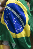 Brazilian flag Stock Images