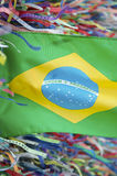 Brazilian Flag Wish Ribbons Bonfim Salvador Bahia Royalty Free Stock Photography