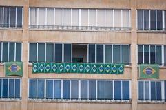 Brazilian Flags Stock Image