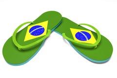 Brazilian flip flops Stock Image