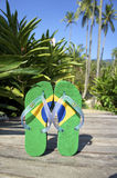 Brazilian Flipflop Royalty Free Stock Photo