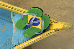 Brazilian Flipflop Stock Photography