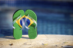 Brazilian Flipflop Royalty Free Stock Image
