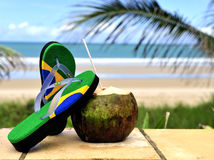 Brazilian flipflop Stock Photo