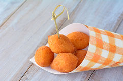 Brazilian food - Coxinhas Royalty Free Stock Images