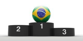 Brazilian football. Royalty Free Stock Photography