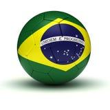Brazilian Football. (computer generated image Stock Photo