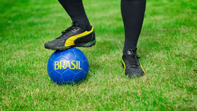 Brazilian Football Confederation. Stock Images
