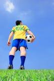 Brazilian football player Stock Photography