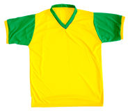Brazilian football shirt Royalty Free Stock Image