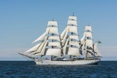 Brazilian fullrigger Cisne Branco under sail Stock Photos