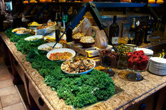 Brazilian Gourmet Salad Bar Stock Image