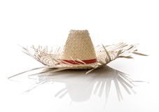 Brazilian Hat for Junina Party on white background Royalty Free Stock Photography