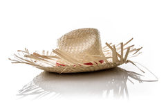 Brazilian Hat for Junina Party on white background Stock Photo