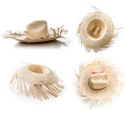 Brazilian Hat for Junina Party on white background Stock Image