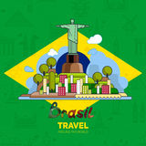 Brazilian landmarks, architecture Stock Photo