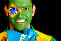 Brazilian man smiling Royalty Free Stock Images