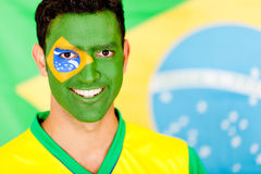 Brazilian man smiling Royalty Free Stock Photography