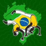 Brazilian Martial Art Capoeira Royalty Free Stock Photos