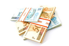 Brazilian Money Stock Image