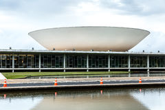 Brazilian National Congress in Brasilia, Brazil Stock Images