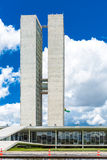 Brazilian National Congress in Brasilia, Brazil Royalty Free Stock Photography
