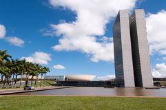 Brazilian National Congress Stock Images