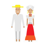 Brazilian national dress Stock Photo
