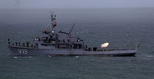 Free Brazilian Navy Corvette Ship Royalty Free Stock Photo - 188540135