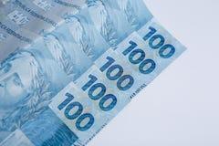 Brazilian notes Royalty Free Stock Photography