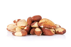 Brazilian nuts royalty free stock images