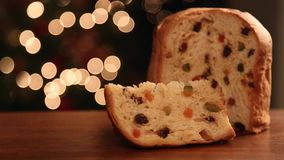Brazilian panettone stock video
