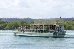 Brazilian passenger boat Stock Image