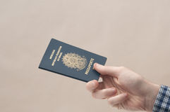 Brazilian Passport Royalty Free Stock Image