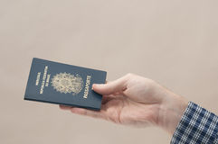 Brazilian Passport Royalty Free Stock Photography