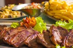 Brazilian Picanha Steak Royalty Free Stock Photos