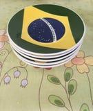 Brazilian plates Stock Images