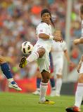 Brazilian player Ronaldinho Royalty Free Stock Photos