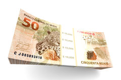 Brazilian Real bills Royalty Free Stock Image
