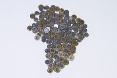 Brazilian Real coins Royalty Free Stock Photo