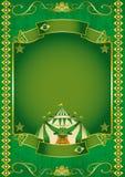 Brazilian retro circus. A circus background on brazilian theme Royalty Free Stock Image
