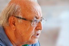 Brazilian senior man close up Royalty Free Stock Image