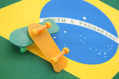 Brazilian skate Stock Images
