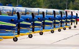 Brazilian Smoke Squadron Royalty Free Stock Photos