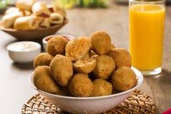 Brazilian snack. Stock Photos
