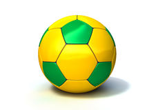 Brazilian Soccer Ball Royalty Free Stock Photo
